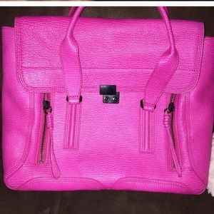 3.1 Phillip Lim Pashli- hot pink- size large